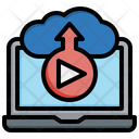 Cloud Streaming Icon