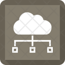 Cloud Computers Server Icon