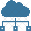 Cloud Structure Computers Icon