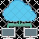 Cloud Computing Cloud Network Cloud Sharing Icon