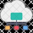 Cloud Online Data Icon
