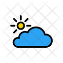 Cloud Climate Forecast Icon