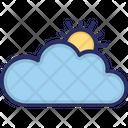 Cloud Sun Weather Icon