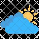 Clouds Sun Bright Icon