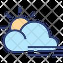 Cloud Sun Wind Icon