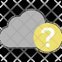 Cloud Cloud Computing Question Icon Icon