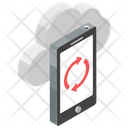 Cloud Sync Cloud Backup Cloud Computing Icon