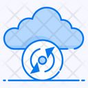 Cloud Sync Cloud Refresh Cloud Reload Icon
