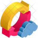 Cloud Computing Sync Icon