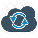 Cloud Share Sync Icon
