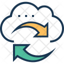Cloud Sync Processing Icon