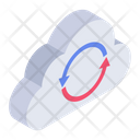 Cloud Sync Cloud Update Cloud Refresh Icon