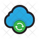 Cloud Sync Back Up Icon