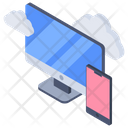 Cloud synchronization Icon
