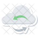 Cloud Computing Storage Icon
