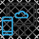 Cloud Synchronization Monitor Icon