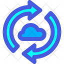 Cloud Synchronize Icon