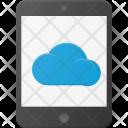 Cloud Tablet Symbol Icon