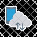 Cloud Server Phone Icon