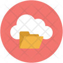 Cloud synchronize to folder Icon