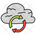 Cloud Syncing Icon
