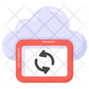 Cloud Syncing Cloud Refresh Cloud Reload Icon
