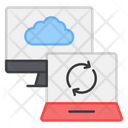 Cloud Syncing Cloud Computing Cloud Reload Icon