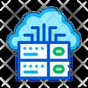 System Digital Cloud Icon
