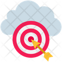Cloud Target Icon