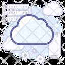 Cloud Tech Cloud Data Icon