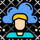 Management Cloud System Online Icon