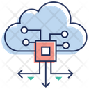 Cloud Technology Cloud Computing Data Transfer Icon