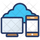 Cloud Technology Cloud Hosting Cloud Computing Icon