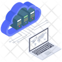 Cloud Technology Cloud Connected Devices Cloud Computing Icon