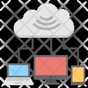 Cloud Computing Internet Icon