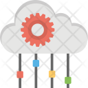 Cloud Technology Computing Icon