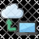 Cloud Technology Cloud Hosting Cloud Computing Icon