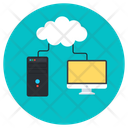 Cloud Devices Cloud Technology Cloud Storage Icon