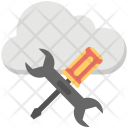 Cloud Testing Icon