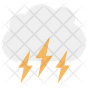 Cloud Thunder Storm Icon