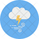 Cloud Thunder Sock Icon