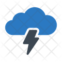 Cloud Energy Flash Icon