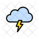 Cloud Storm Weather Icon