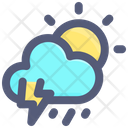 Day Sun Cloud Icon