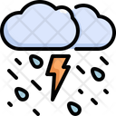 Thunder Cloud Weather Icon