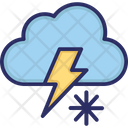 Weather Cloud Snow Icon