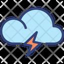 Cloud Thunder Icon