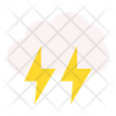 Cloud Thunder Cloud Weather Icon