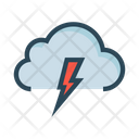 Cloud Flash Weather Icon