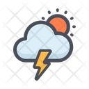 Cloud Energy Cloud Thunder Bolt Cloud Thunder Icon